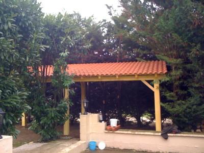 Abris bois de jardin chapente bois traditionnelle chalet for Abris de jardin sur mesure